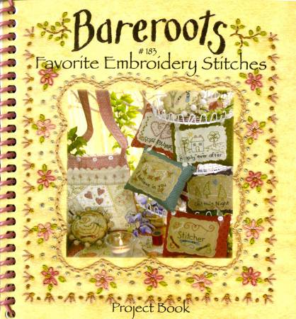 Favorite Embroidery Stitches & Project Booklet by Bareroots