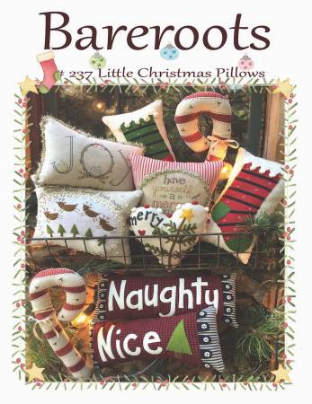 Little Christmas Pillows patterns by Bareroots