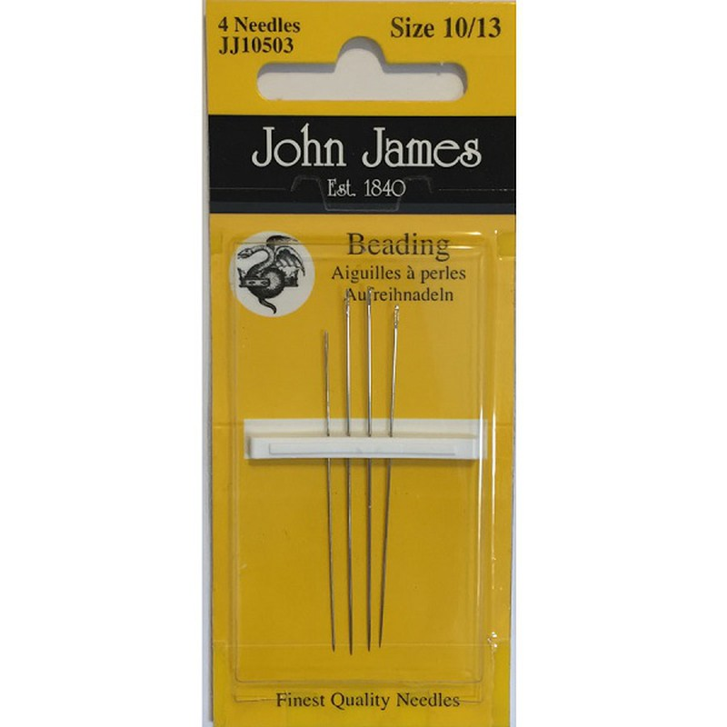 John James  ~ Beading Needles size 10/13