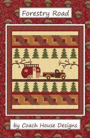 """Forestry Road""  - Coach House Designs Quilt Pattern"