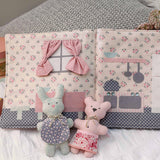 A Day At Home With Bearhug & Honeybun pattern
