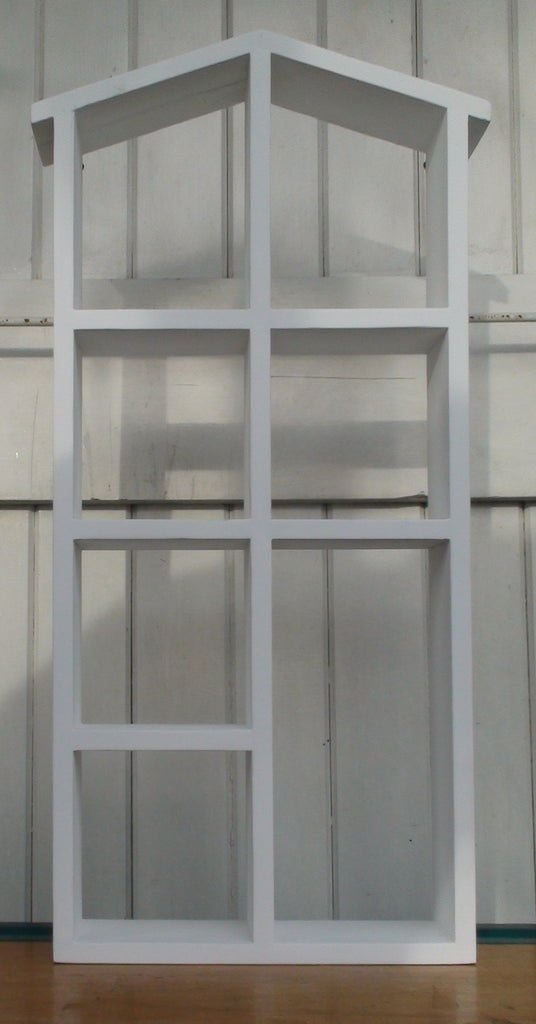 House display shelves - White