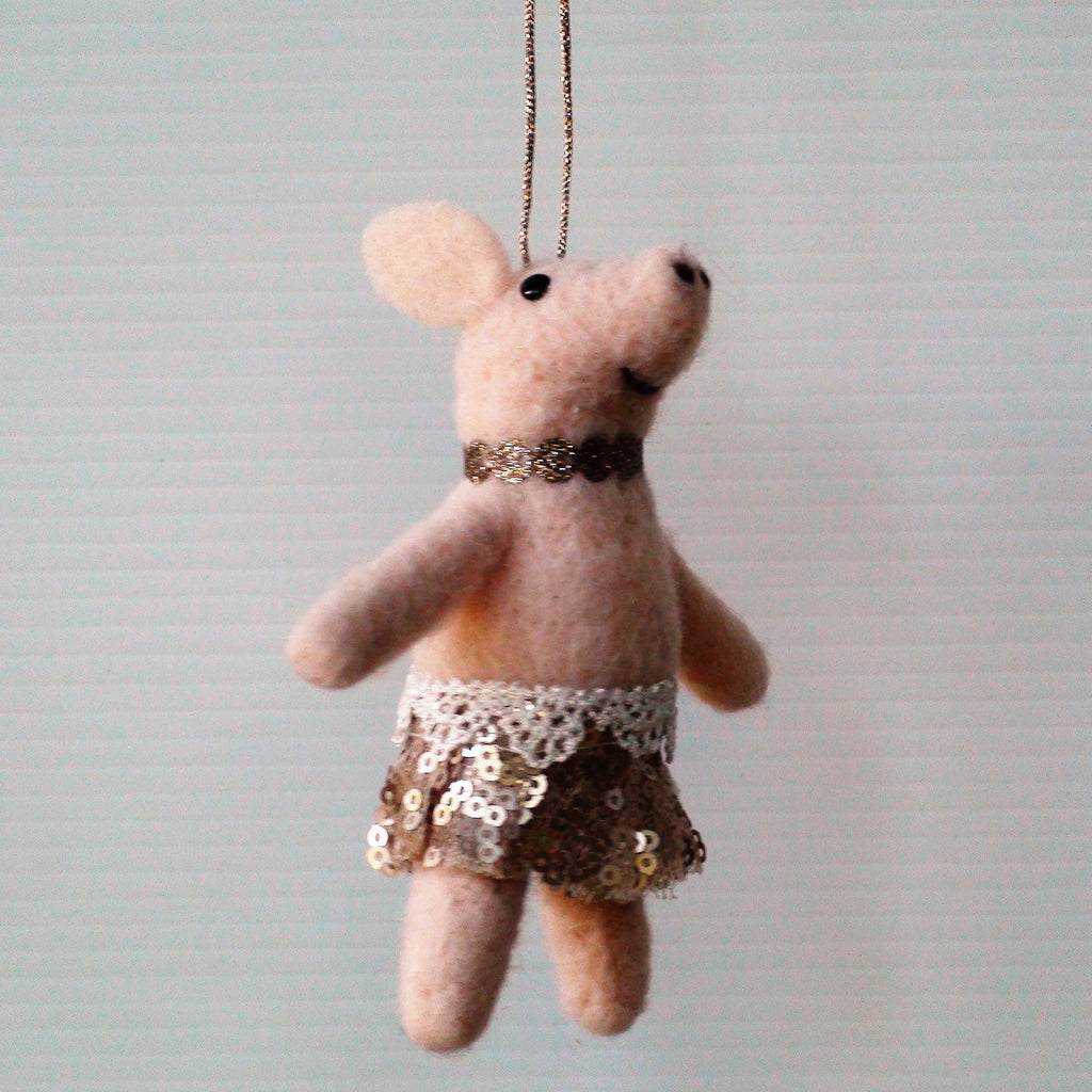 Jig the Pig~ hanging ornament