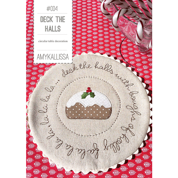 Deck The Halls~ Pattern by Amy Kallissa