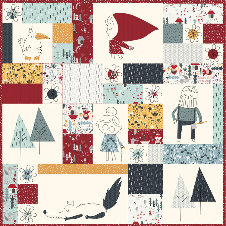 """Little Red""~ Quilt Pattern~meags & me"