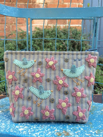 Hatched & Patched ~ Piper Street Purse~ pattern & woven wool pack