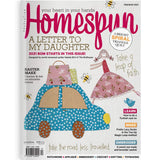 "HOMESPUN BOM The Birdhouse~2021 ~  ""A Letter to my Daughter"" by Natalie Bird"