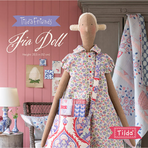 Tilda Friends Fia Doll~Kit