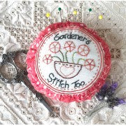 Nikki Tervo Designs Pattern ~ Gardeners Stitch Pincushion