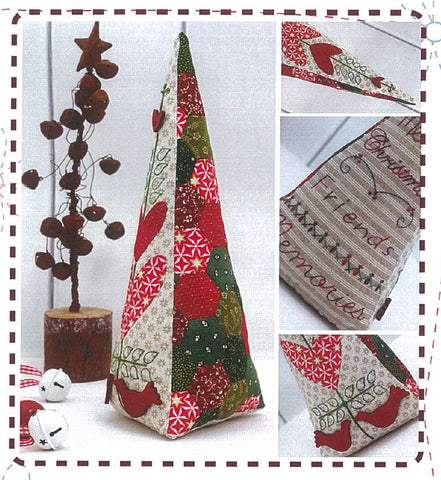 Hugs'n Kisses Pattern ~ Christmas Club 3D Tree