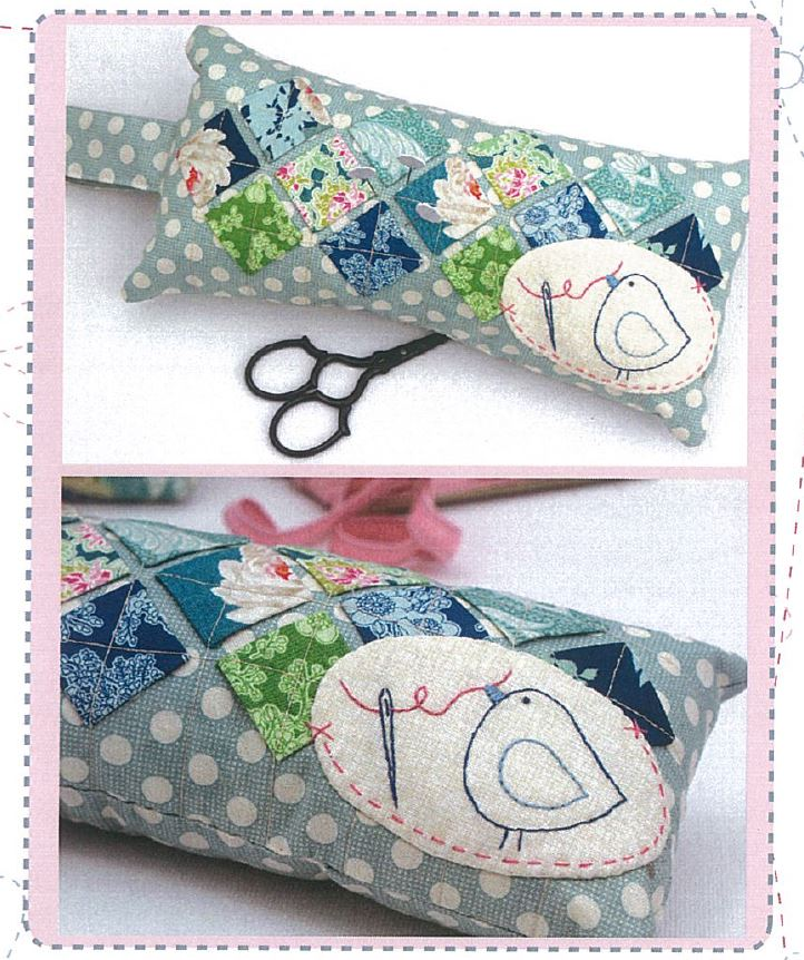 Hugs'n Kisses Pattern ~ Birdy Squared Pincushion