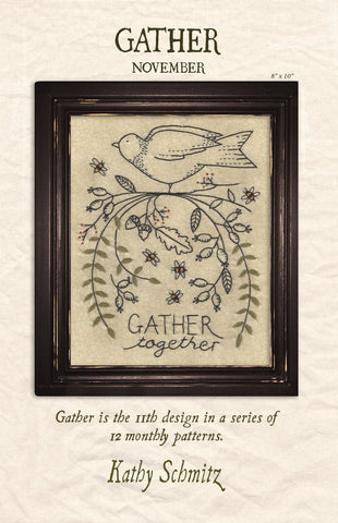 "Kathy Schmitz - ""Gather"" pattern"