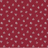Liberty~ Winter Flower Show ~ Abbeywood red~fat quarter