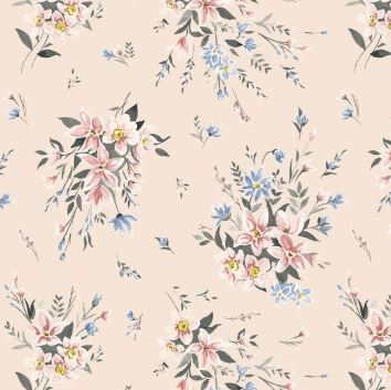 Liberty ~ The Winterbourne Collection~Bouquet Soft Pink