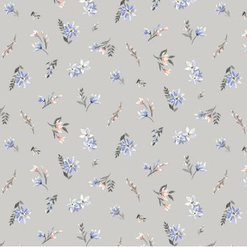 Liberty ~ The Winterbourne Collection~Lawn in Grey Mist