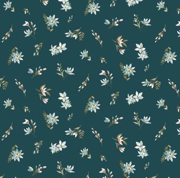 Liberty ~ The Winterbourne Collection~Lawn in Deep Lake