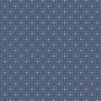 Liberty ~ The Winterbourne Collection~Nettlefold in Manor Blue