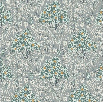Liberty ~ The Winterbourne Collection~Woodhaze in Dusty Aqua