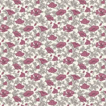 Liberty ~ The Winterbourne Collection~Nina Poppy in Lyrical~fat quarter