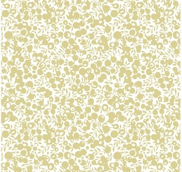 Liberty ~ A Festive Collection~ Whiltshire Shadow ~ Gold~fat quarter