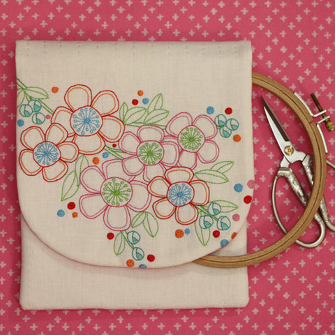 """Hello Blossom""  Stitcher's Keeper - Leanne Beasley"