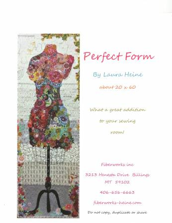 Perfect Form Collage Pattern by Laura Heine