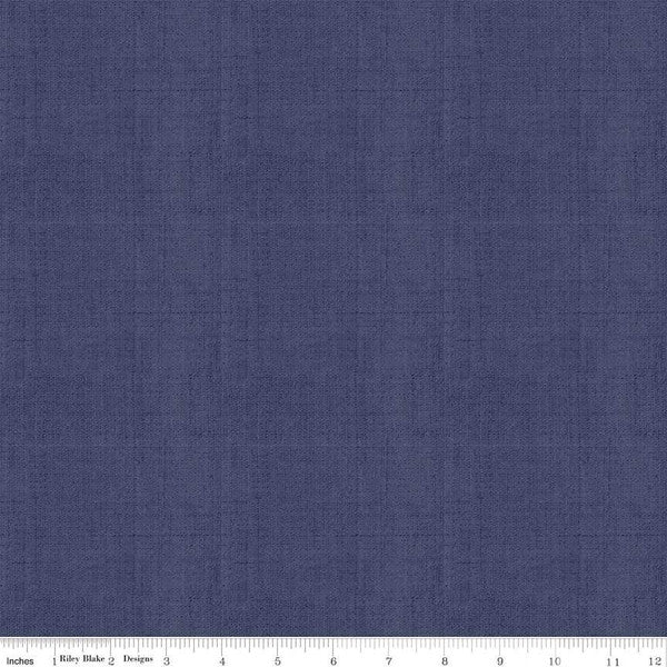 Linen~ Navy~ Riley Blake