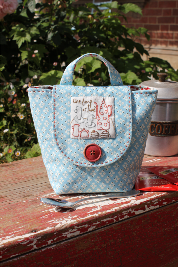 Hatched & Patched ~ Tea Anyone Mug Bag~ pattern