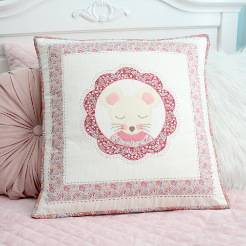 """Milly Mouse"" ~ Cushion pattern by Molly and Mama"