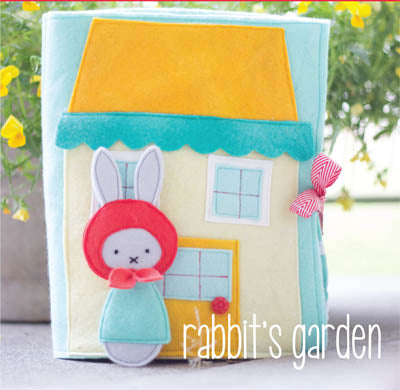 "May Blossom ""rabbit's garden"" pattern by Simone Gooding"