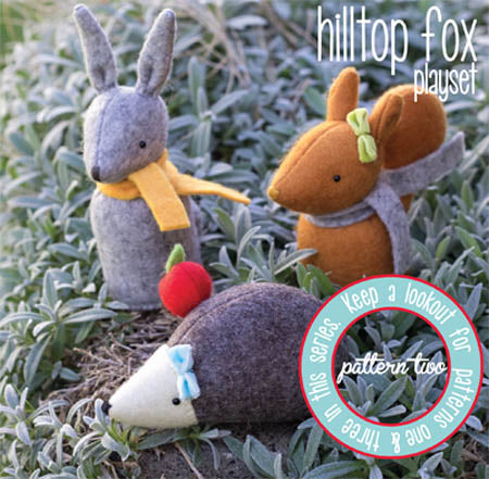 "May Blossom ""hilltop fox playset 2"" pattern by Simone Gooding"