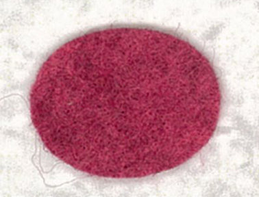 Wool Blend felt ~ Ruby Red Slippers ~ 2212