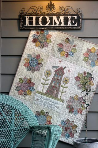 The Birdhouse Pattern ~ Our Home Quilt