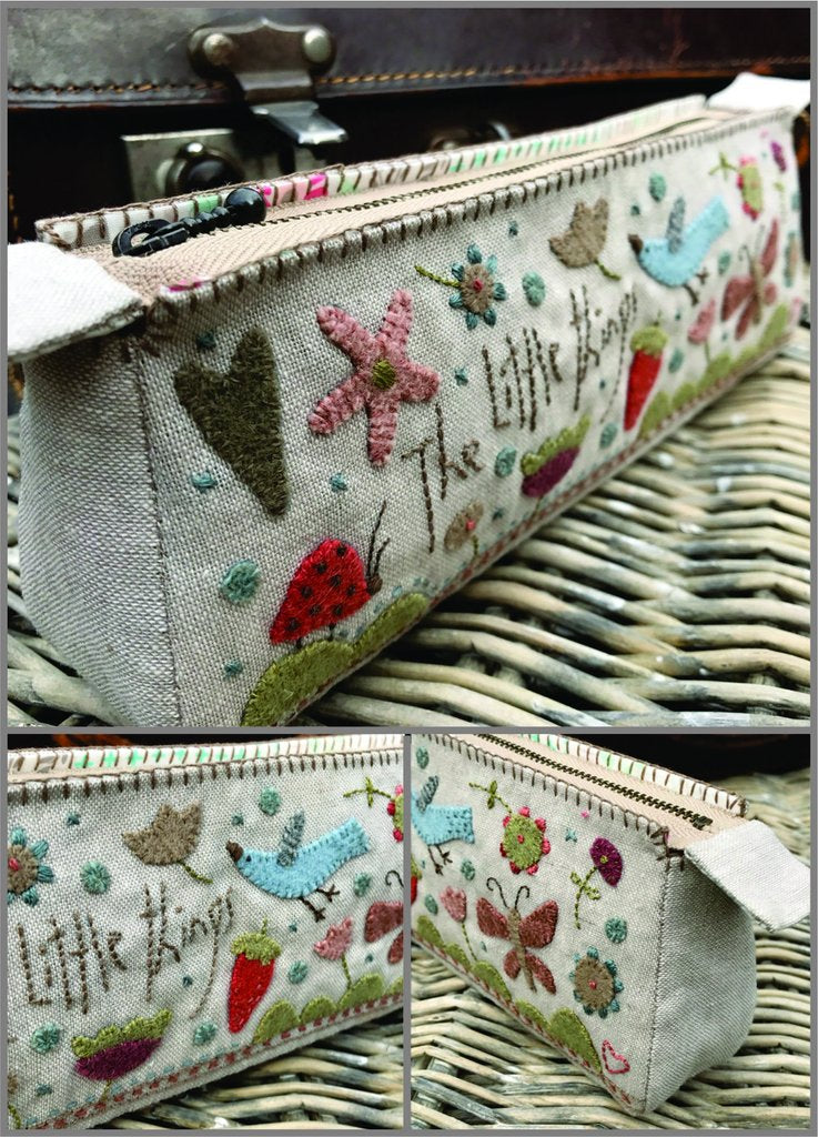 Hatched & Patched ~little things pencil case~ pattern