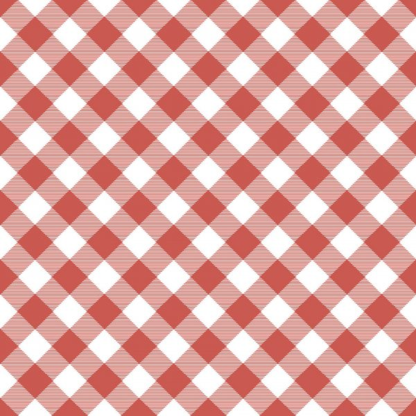 Poppie Cotton ~ Prairie Sisters ~ Gingham ~ red