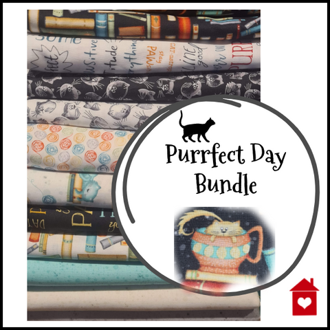 Purrfect Day~ bundles of fat quarters