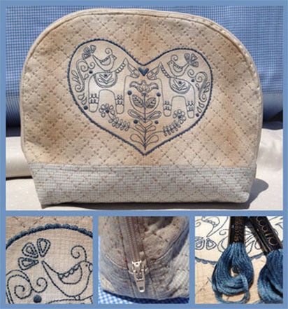Rosalie Dekker- Dala Sewing Bag Pattern