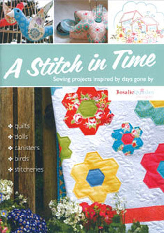 "Rosalie Quinlan ""A Stitch in Time"" sewing project book"