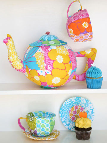 "Ric Rac ""Tea Set"" pattern by Jodie Carleton"