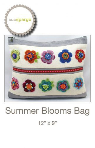 "Sue Spargo - ""Summer Blooms"" bag pattern"