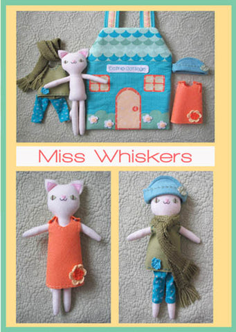 Miss Whiskers Pattern - Two Brown Birds