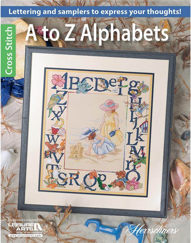 A-Z Alphabets~  Cross Stitch patterns