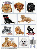America's Best Loved Dogs patterns ~ 19 Cross Stitch patterns