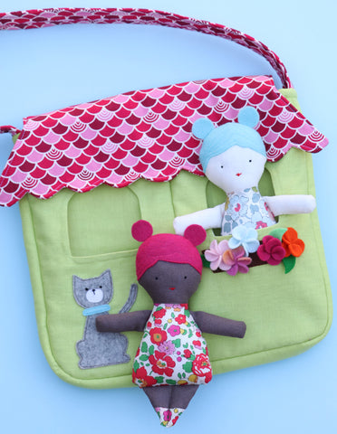"Ric Rac ""Doll House"" bag pattern by Jodie Carleton"