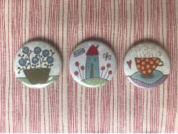 Hatched & Patched ~ Mini Magnets~ Home