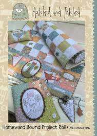 Hatched & Patched ~Homeward Bound Project Roll~ pattern