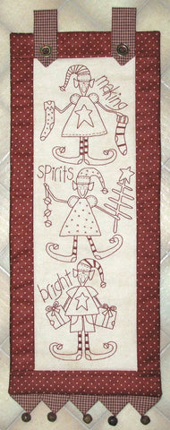 The Birdhouse Christmas Pattern ~ Making Spirits Bright