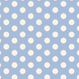 Tilda ~ Medium Dots Blue