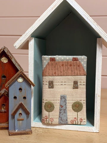 The Birdhouse Pattern ~ French Cottage ~ Needlebook
