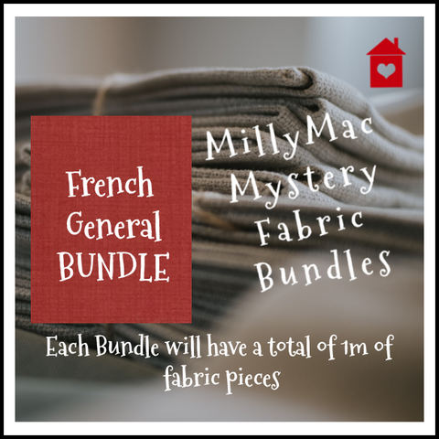 Mystery Bundles of fabrics~ French General